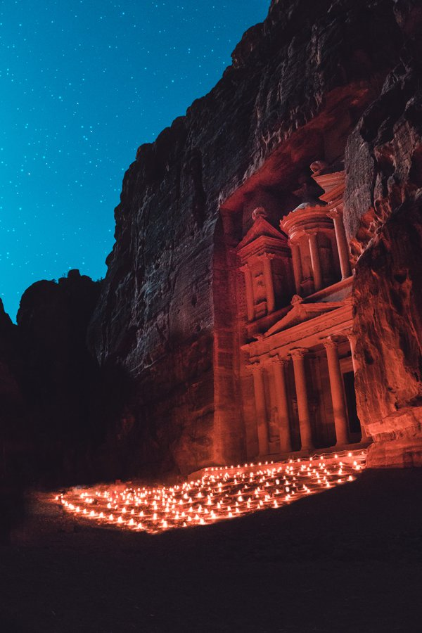Under the stars in Petra thumbnail