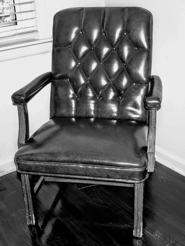 His chair.   He lived, and he was a resident of Harlem in New York City. thumbnail