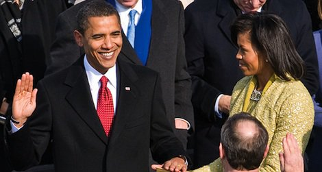 Today, President Barack Obama will take the oath of office for his second term.
