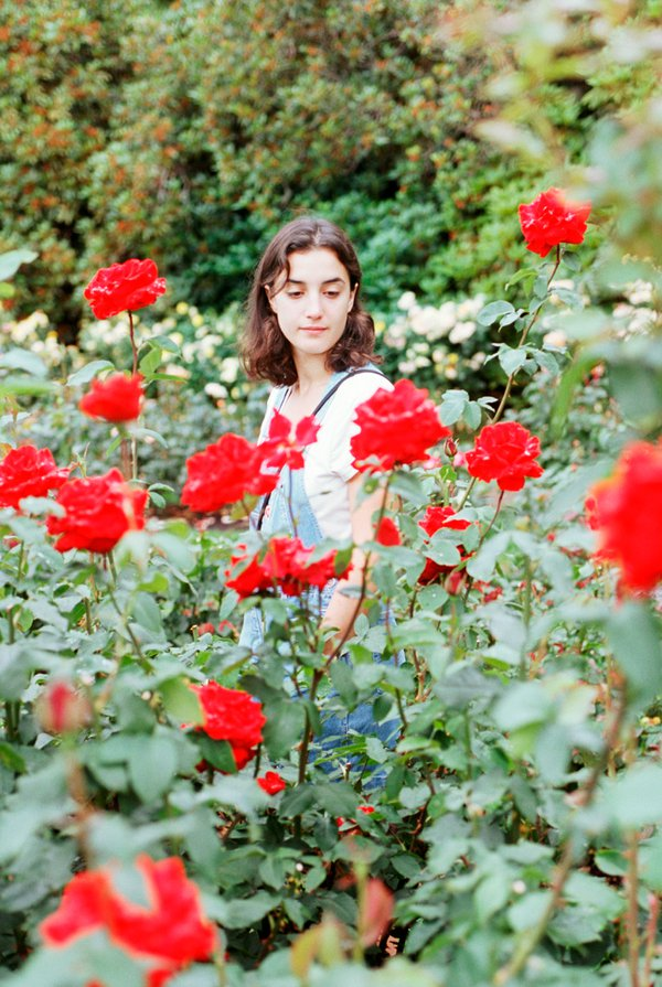 Girl Amid the Roses thumbnail