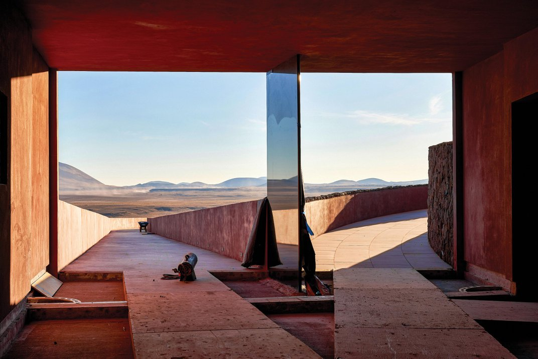 An Exclusive Look at James Turrell's Visionary Artwork in the Arizona Desert