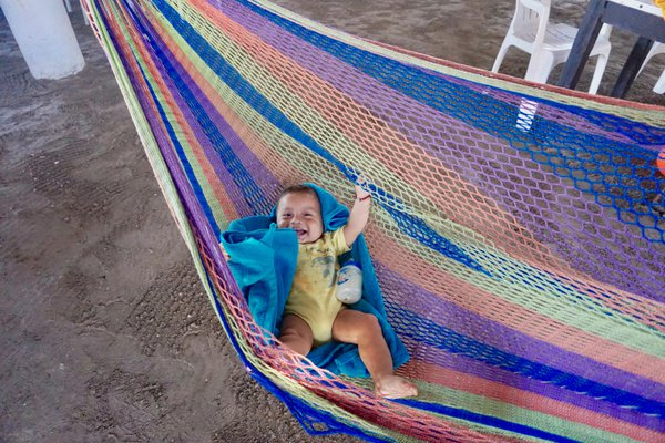 A happy mexican baby thumbnail