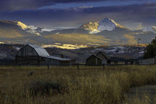 Mountain View from a farm thumbnail
