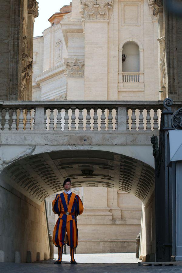 Swiss Guard at The Vatican thumbnail