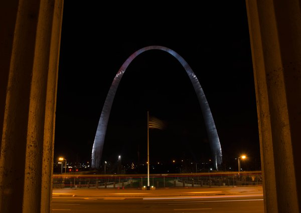 Gateway to the West St Louis Arch Missouri  thumbnail