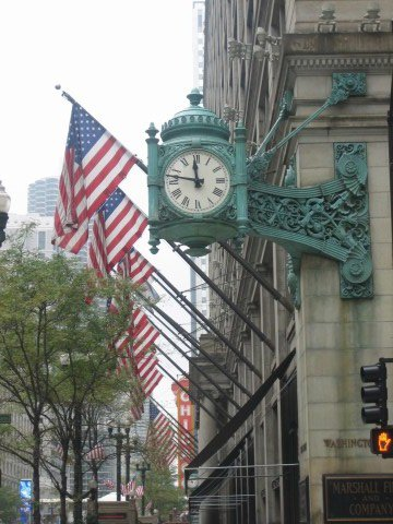 Marshall fields on Michigan Avenue in Chicago, before it was closed down thumbnail