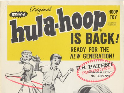 In an effort to keep the fad alive, Wham-O created new hoops, including one in 1982 that smelled of mint.