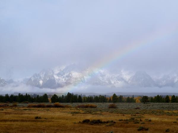 The Rainbow and the Tetons thumbnail
