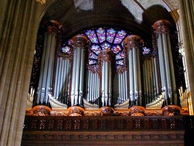 Notre-Dame's Grand Organ, as seen before the April 2019 fire