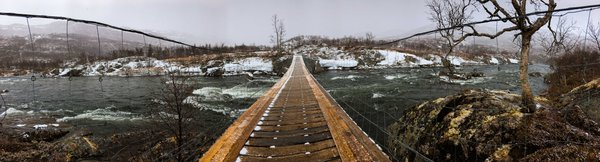 Snowy Bridge of the Hardangervidda thumbnail