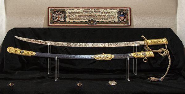 General Black Jack Pershing's sword thumbnail