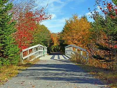 Part of the Great Trail in Nova Scotia