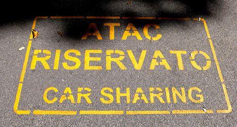 Car sharing in Rome