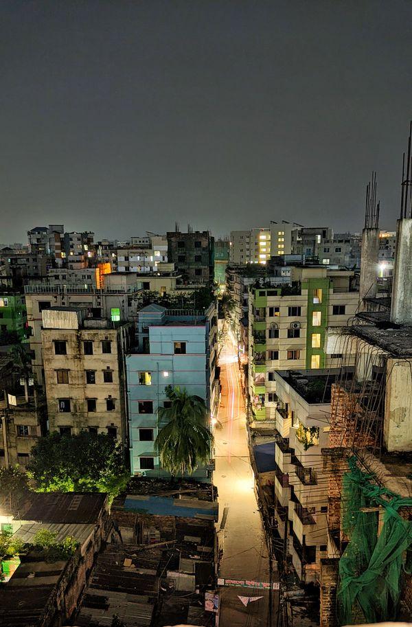 Asleep Dhaka with exhausted eyes. thumbnail