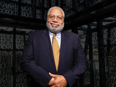 """""""We call ourselves the Great Convener,"""" says the new Secretary Lonnie G. Bunch III, """"but really we're a Great Legitimizer. And I want the Smithsonian to legitimize important issues."""""""