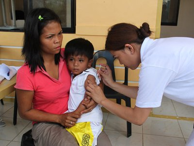 But since 2010, the percentage of children around the world receiving the first vaccine has plateaued at around 85 percent; only 71 percent receive the second dose.