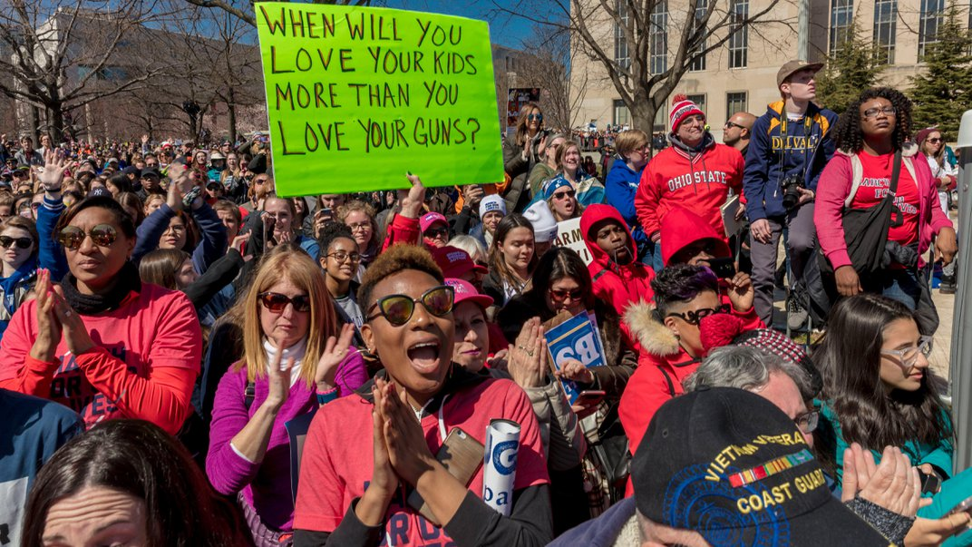 The March for Our Lives Activists Showed Us How to Find Meaning in Tragedy