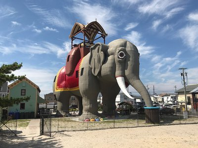 You can now a book a stay in Lucy the Elephant.