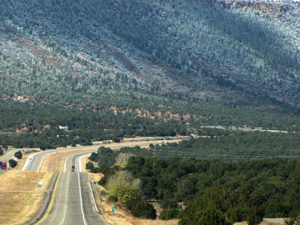 Old Route 66 east of Santa Fe, NM thumbnail
