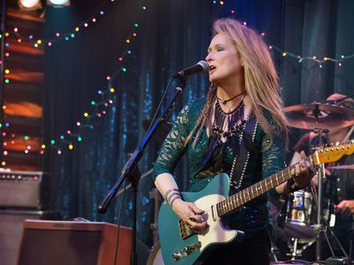 Meryl Streep's a better actress than singer, but that works to her advantage in the film.