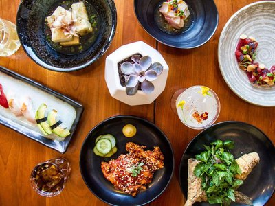 A succulent spread from Petworth-based Japanese restaurant Himitsu, one of the many D.C. vendors that will be represented at IlluminAsia.