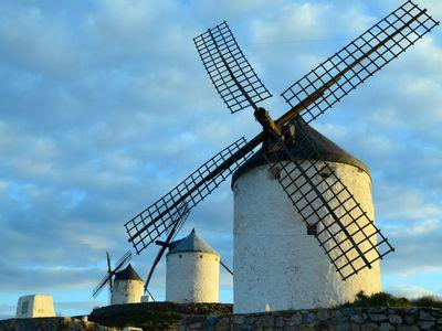 The Consuegra Windmills.