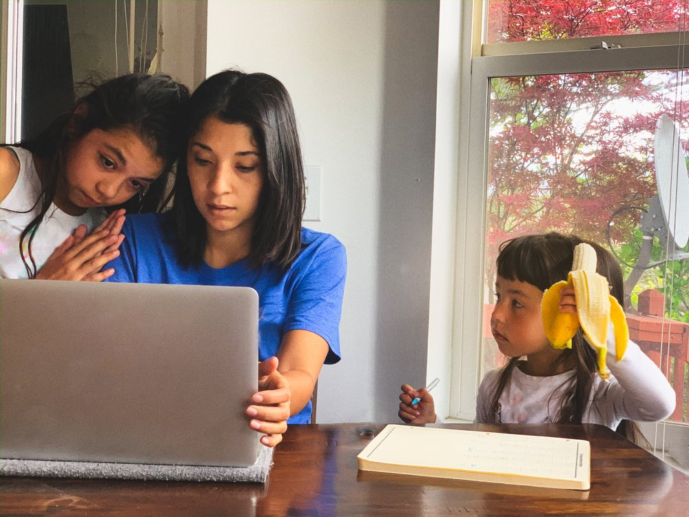 Learning about a major news event as it transpires can be stressful for families to navigate and process together. (Getty Images)