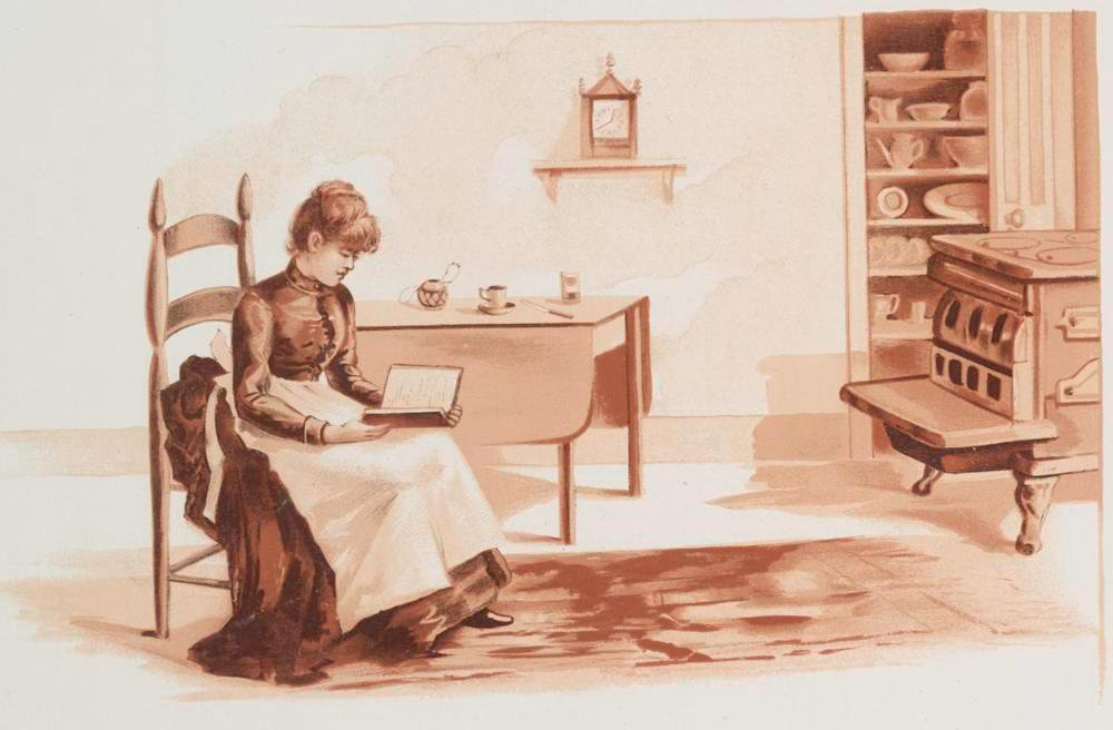 The recipes in late 19th-century American cookbooks