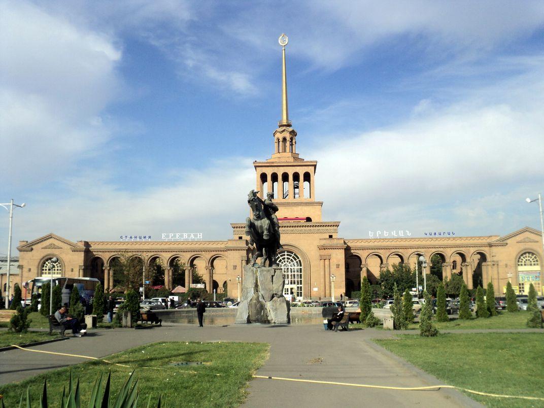 Tour Armenia's Enduring Soviet-Era Architecture