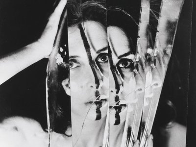 "Carolee Schneemann, ""Eye Body #11,"" 1963"