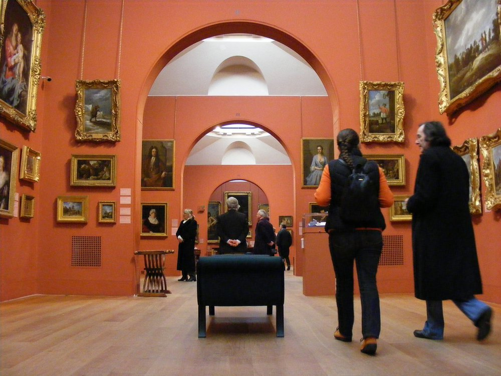 Inside Dulwich Picture Gallery