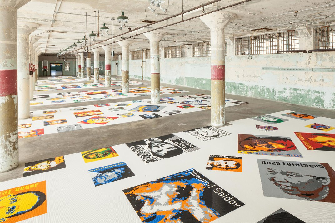 Ai Weiwei Depicts the Brutality of Authoritarianism in an Unusual Medium–Legos