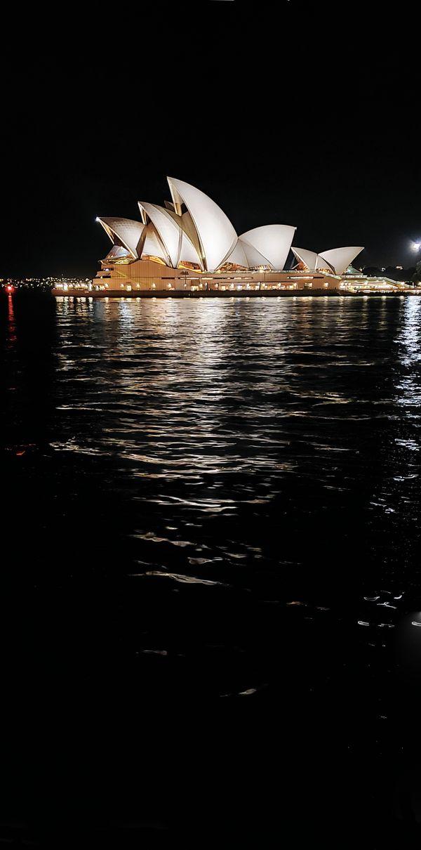 Opera House at Night thumbnail