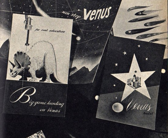 Hunting Dinosaurs on Venus