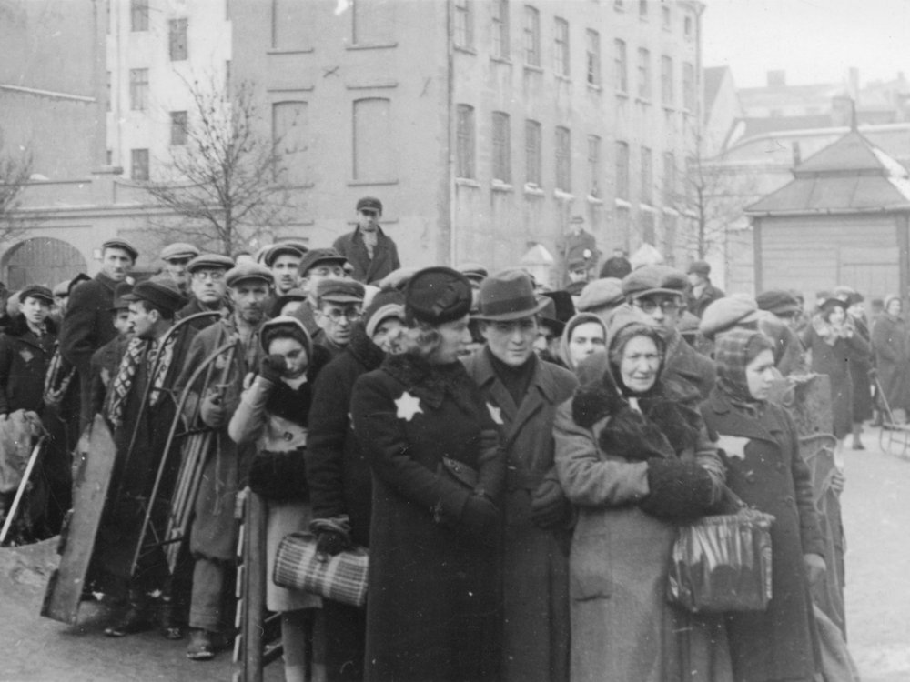 European Jews during the 1940s
