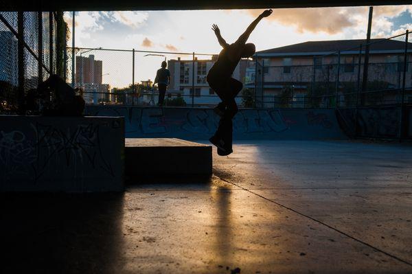 Makiki Skatepark Sunsets thumbnail
