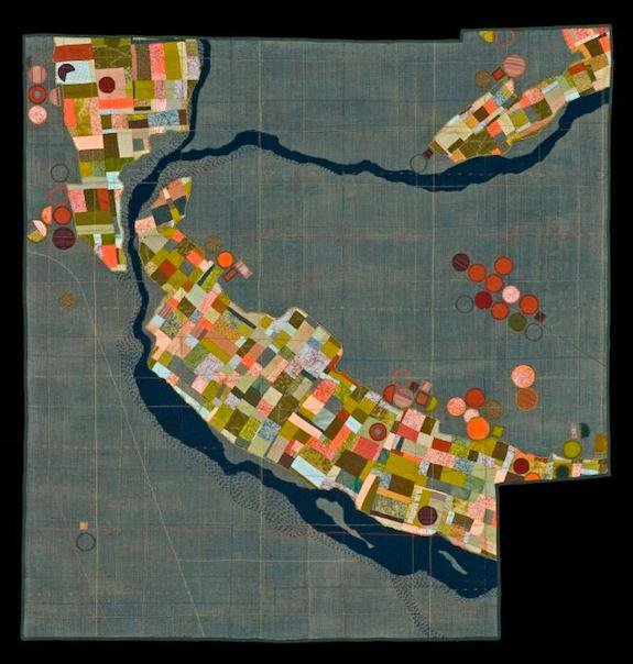 At the Smithsonian Craftshow: Textile Topographies