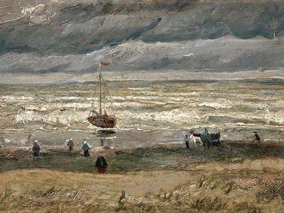View of the Sea at Scheveningen, 1882