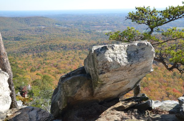 The top of Hanging Rock State Park thumbnail