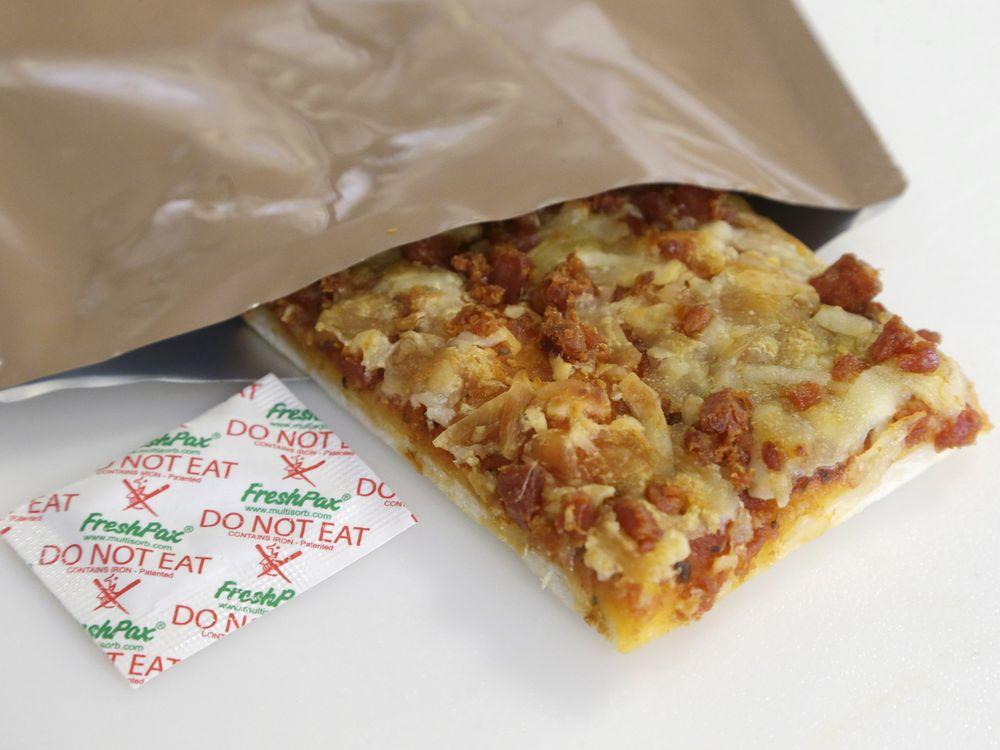 MRE pizza