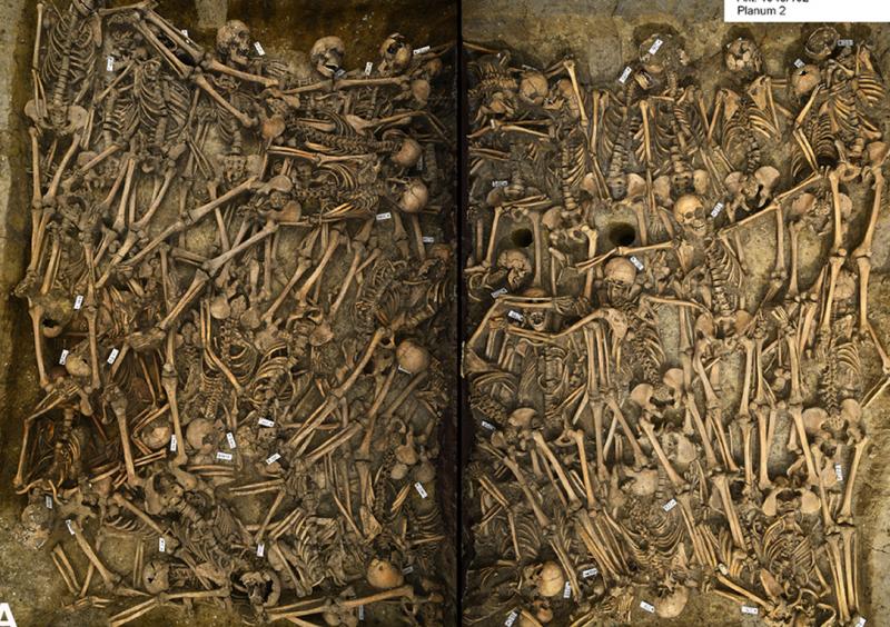 Lutzen Mass Grave
