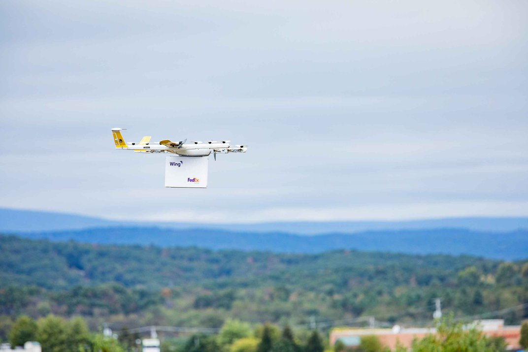 This Drone Made the First Home Delivery in the United States