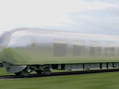 Japan'a see-through trains