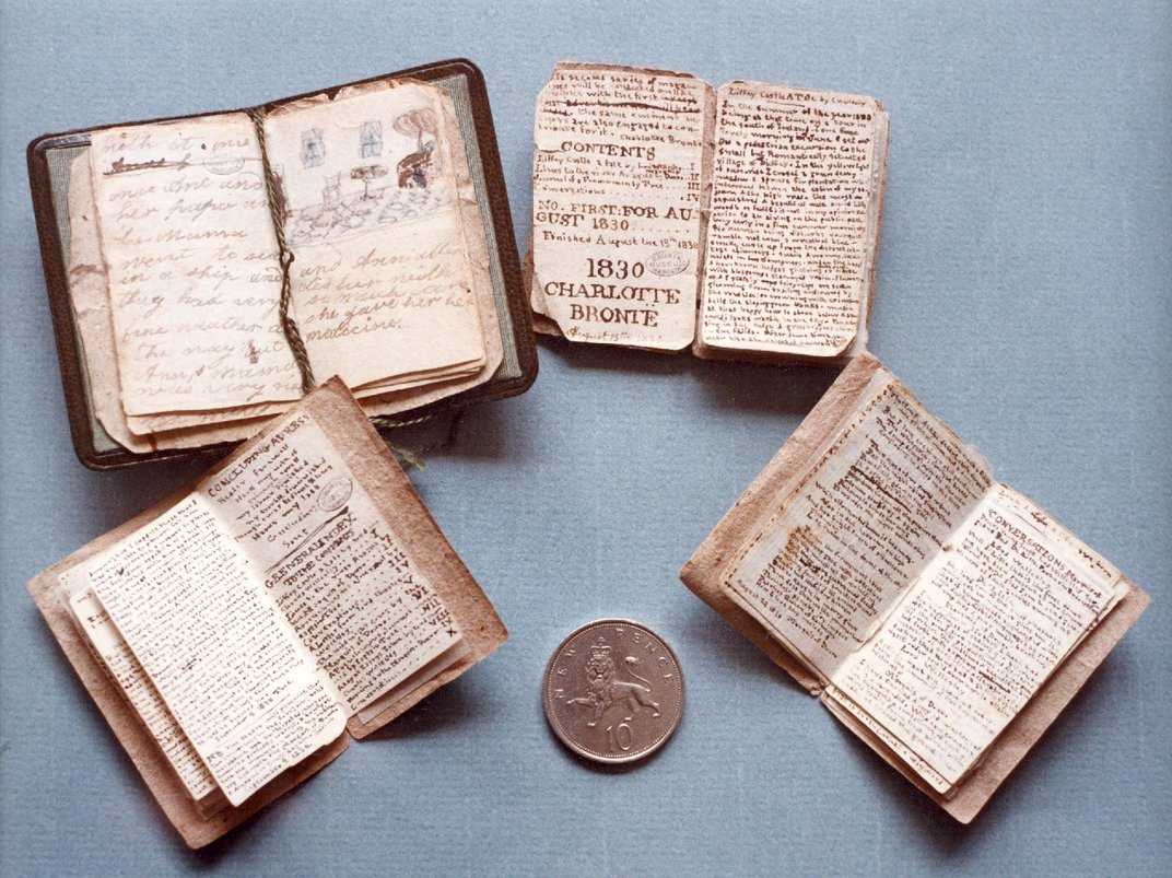 Miniature Manuscript Penned by Teenaged Charlotte Brontë Will Return to Author's Childhood Home