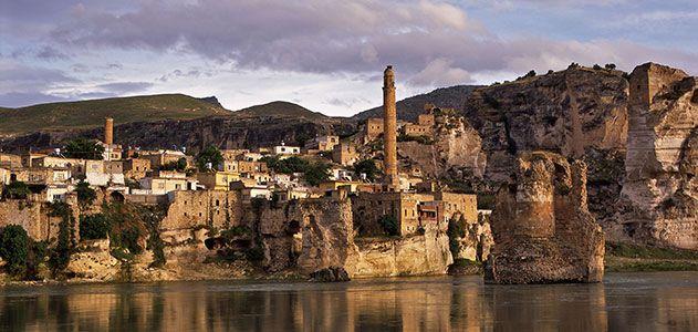 City of Hasankeyf Turkey