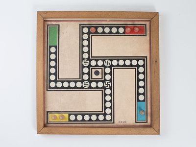 One of the board games in the collections of the Museum of World War II