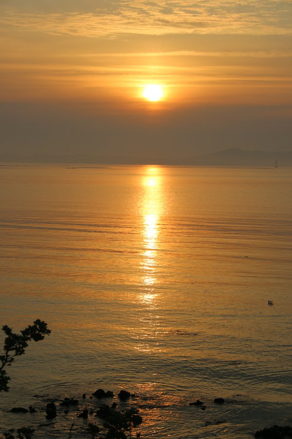 Golden Sunrise over JeJu thumbnail
