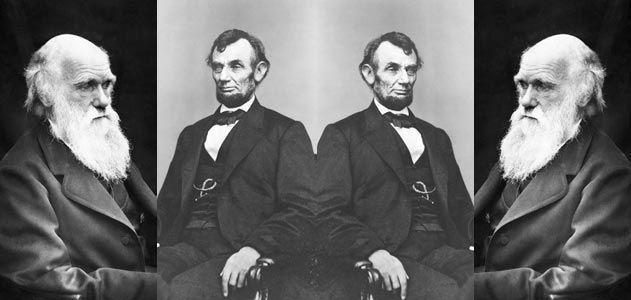 Abraham Lincoln and Charles Darwin