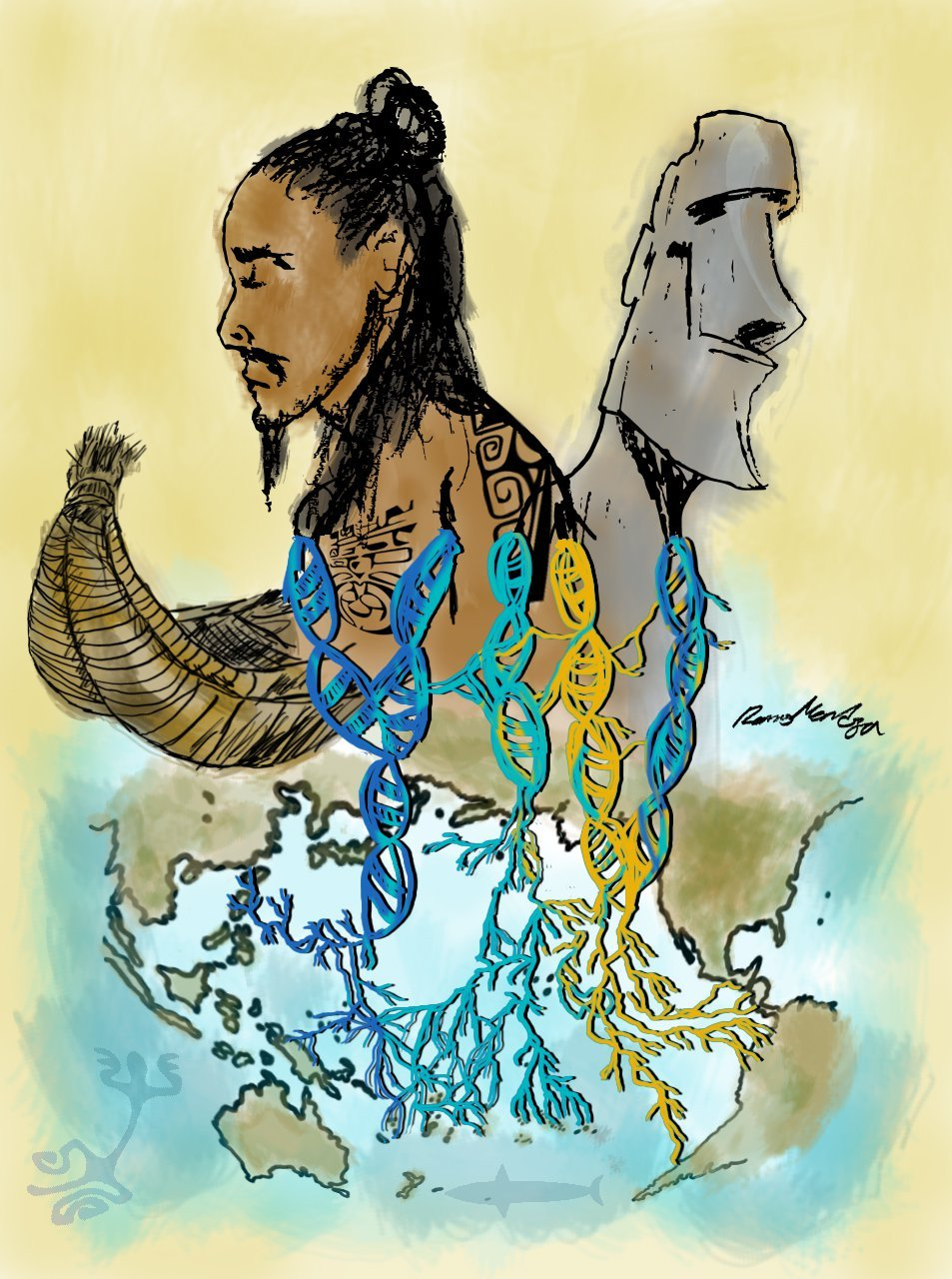Native Americans and Polynesians Met Around 1200 A.D.