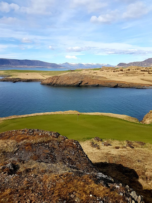 Beautiful view - Brautarholt Golf Course thumbnail